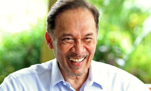 Dato' Seri Anwar Bin Ibrahim, former deputy prime minister and current opposition leader.
