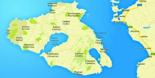 Lesbos Island, Greece