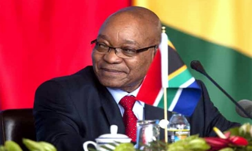 Jacob Gedleyihlekisa Zuma, President of South Africa (Source: newstimeafrica.com)