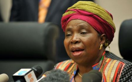President Jacob Zuma's wife #2 - Nkosazana Dlamini-Zuma. She  divorced him in June 1998. (Picture: Jacoline Prinsloo/GCIS)
