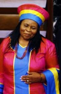 President Jacob Zuma's wife #1 -  Gertrude Sizakele Khumalo.
