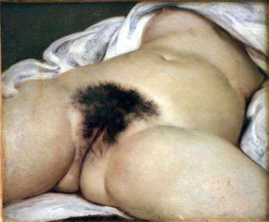 Gustave Courbet, L'Origine du monde (Origin of the World) (1866)